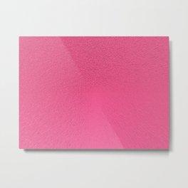 Brink Pink Extrude Metal Print