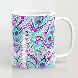 Peacock Tribe Coffee Mug