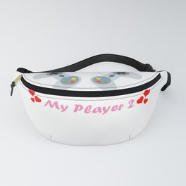 Thanks for being My Player 2 Fanny Pack