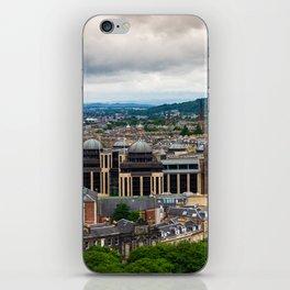 Panoramic of Edinburgh iPhone Skin