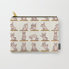Sphynx Cat Yoga Carry-All Pouch