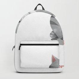 Let's Eat Kitty Backpack