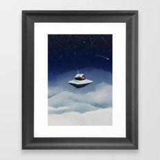 Isolated Framed Art Print
