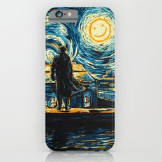 Starry Night Sherlock Holmes Art Painting iPhone 6s Slim Case