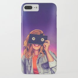VHS Vision iPhone Case
