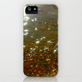 Light Cast Rocks iPhone Case