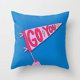 Go You Throw Pillow