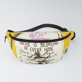 MUSIC IS MEDICINE Fanny Pack