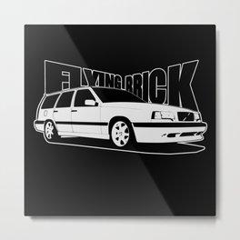 flying brick Metal Print