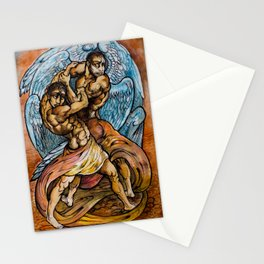Jacob & the Angel  Stationery Cards