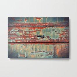 Rust II Metal Print