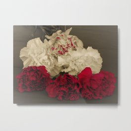 Carnations POP Metal Print