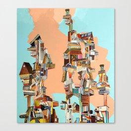 stack 'em up Canvas Print
