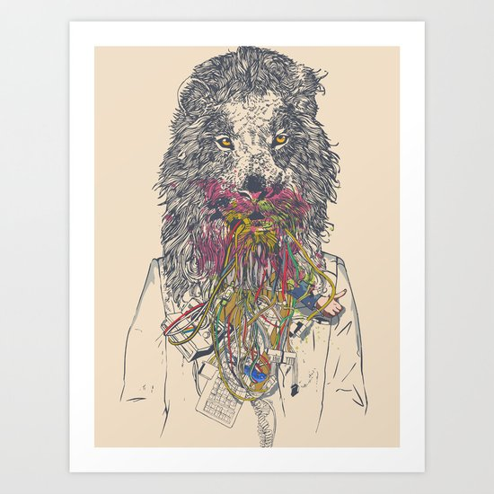 Social Feed Art Print