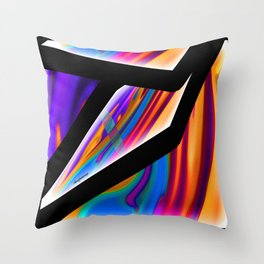WHOOPS ONE OF THOSE FUNKY NIGHTS Throw Pillow