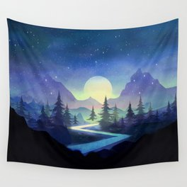 Touching the Stars Wall Tapestry