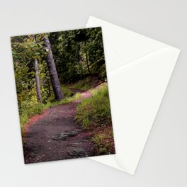 Peaceful Forest Trail Stationery Cards