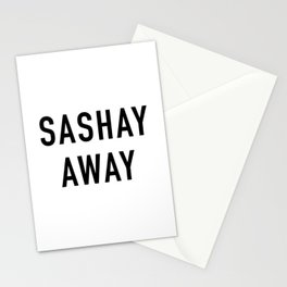 Sashay Away Stationery Cards