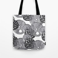 planets Tote Bags featuring PLANETS by Mari
