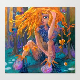 Paradise Godess Canvas Print