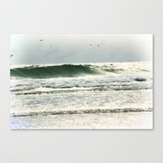 the sea in my memory Canvas Print
