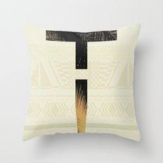 Aztec+ ! Throw Pillow