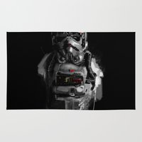 pilot Area & Throw Rugs featuring Pilot 02 by Rafal Rola