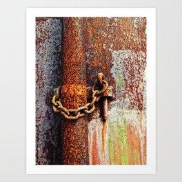 Corrosion Art Print