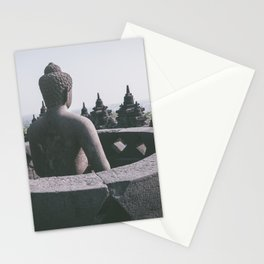 Meditating Buddha, Indonesia Stationery Cards