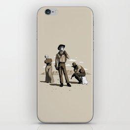 Stone-Cold Western iPhone Skin