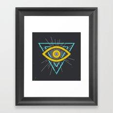 Illuminati Framed Art Print