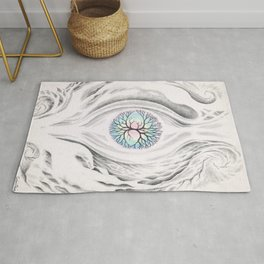 The 3rd eye watching the tree of life Rug