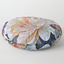 Painted Floor Pillow
