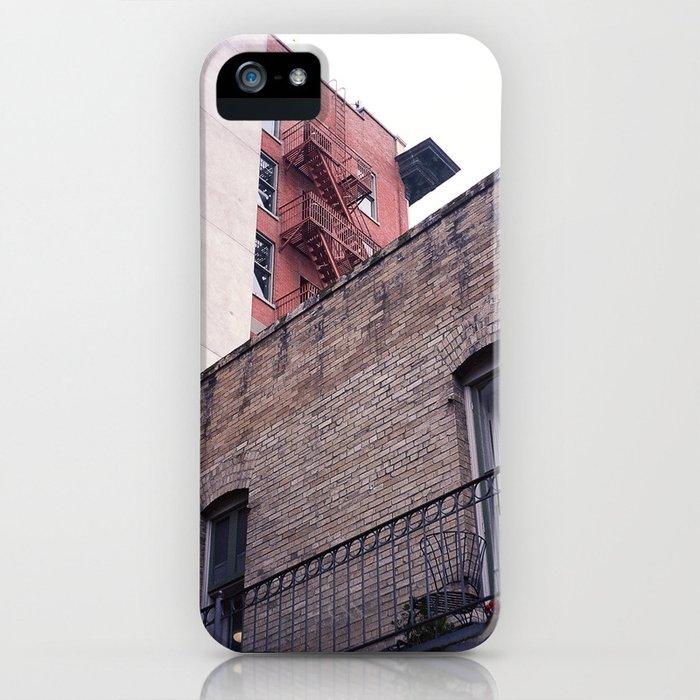 Look Up, Big City iPhone Case