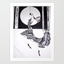 Dancer Series - Jacqueline Art Print