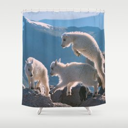 Kids by Lena Owens/OLena Art Shower Curtain