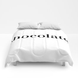 Simply Chocolate Comforters