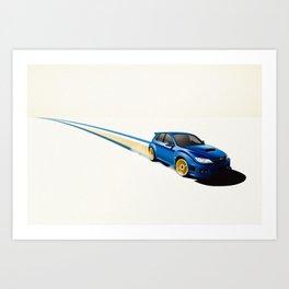 Blue Wonder Art Print