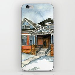 Vintage Winter iPhone Skin
