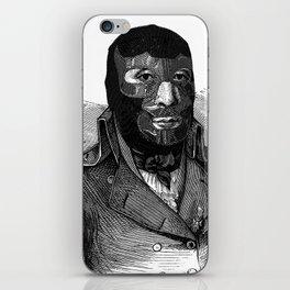 Wrestling mask iPhone Skin
