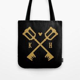 Crossed Keys Tote Bag