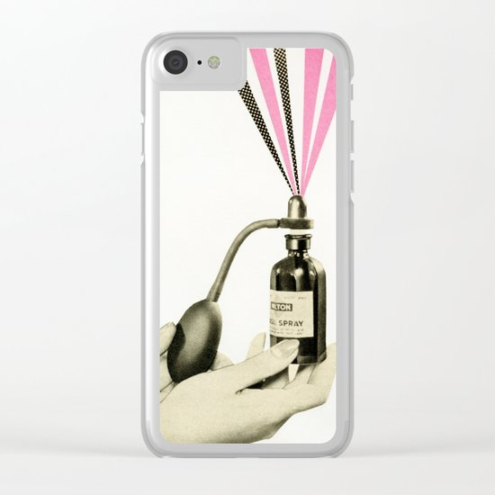 Scents of Smell Clear iPhone Case