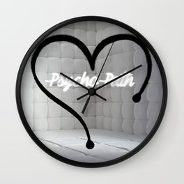 PADDED WALLS Wall Clock