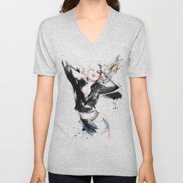 Fashion Painting #2 Unisex V-Neck