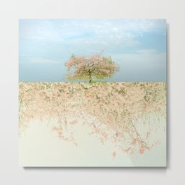 landscape 004b: kodokuna ki Metal Print