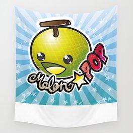 Melon☆POP logo Wall Tapestry