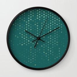leo zodiac sign pattern tw Wall Clock