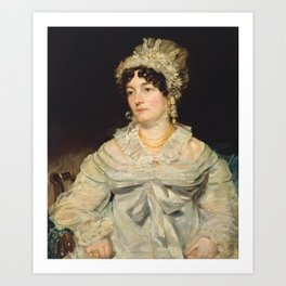 John Constable 1776–1837   Mrs James Andrew Art Print