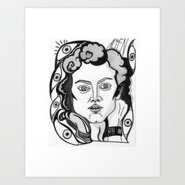Final Girl: Ellen Ripley from Alien Art Print