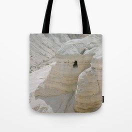 Qumran and the Dead Sea Scrolls - Holy Land Fine Art Film Photography Tote Bag